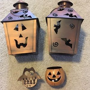 Bundle of 4 Halloween Candles